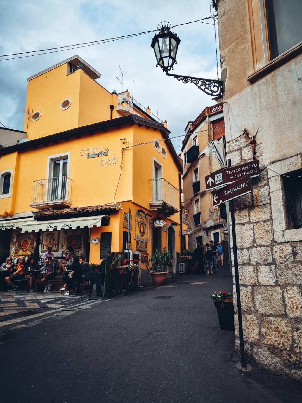Teatro antico in Taormina Sicily