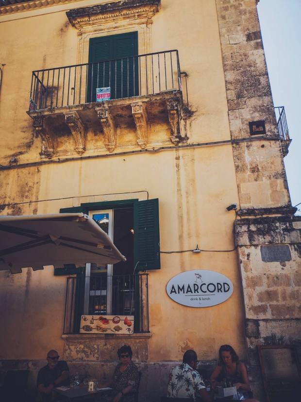 Bar Amarcord in Noto Sicily