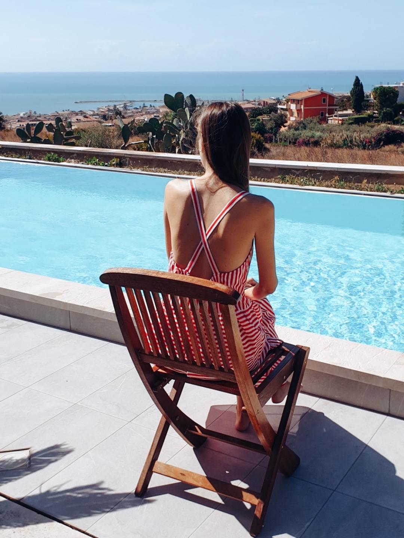 Poolside villa in Marina di Ragusa Sicilia
