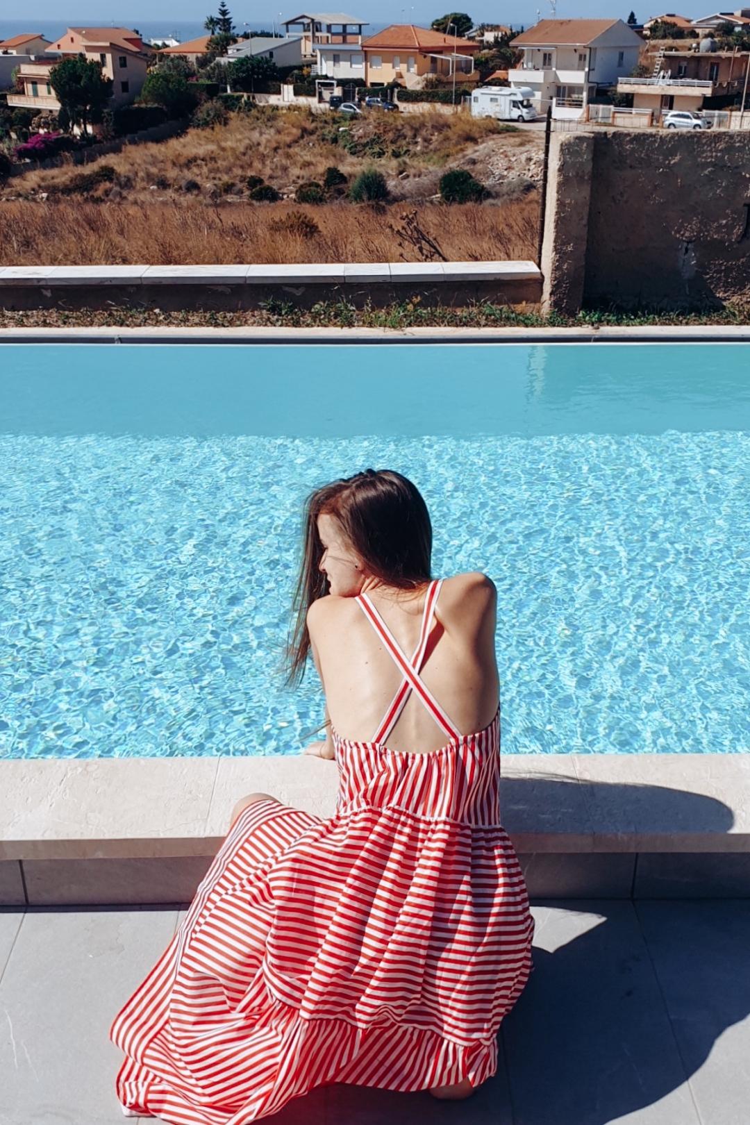 Villa with pool view in Marina di Ragusa Sicily