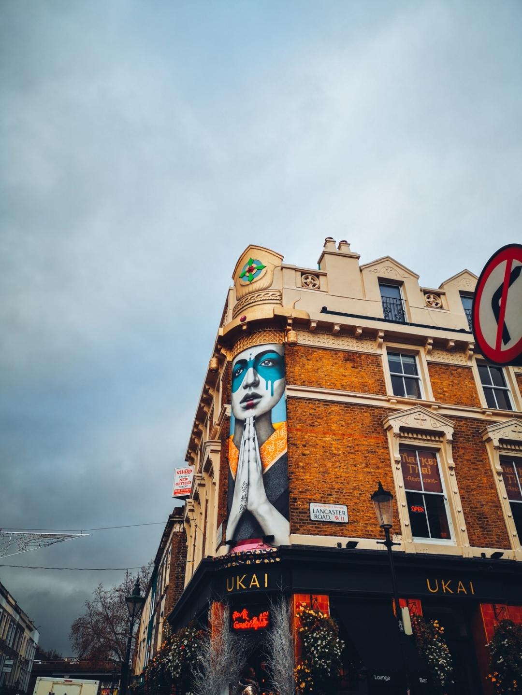 Street art Notting Hill Portobello Road