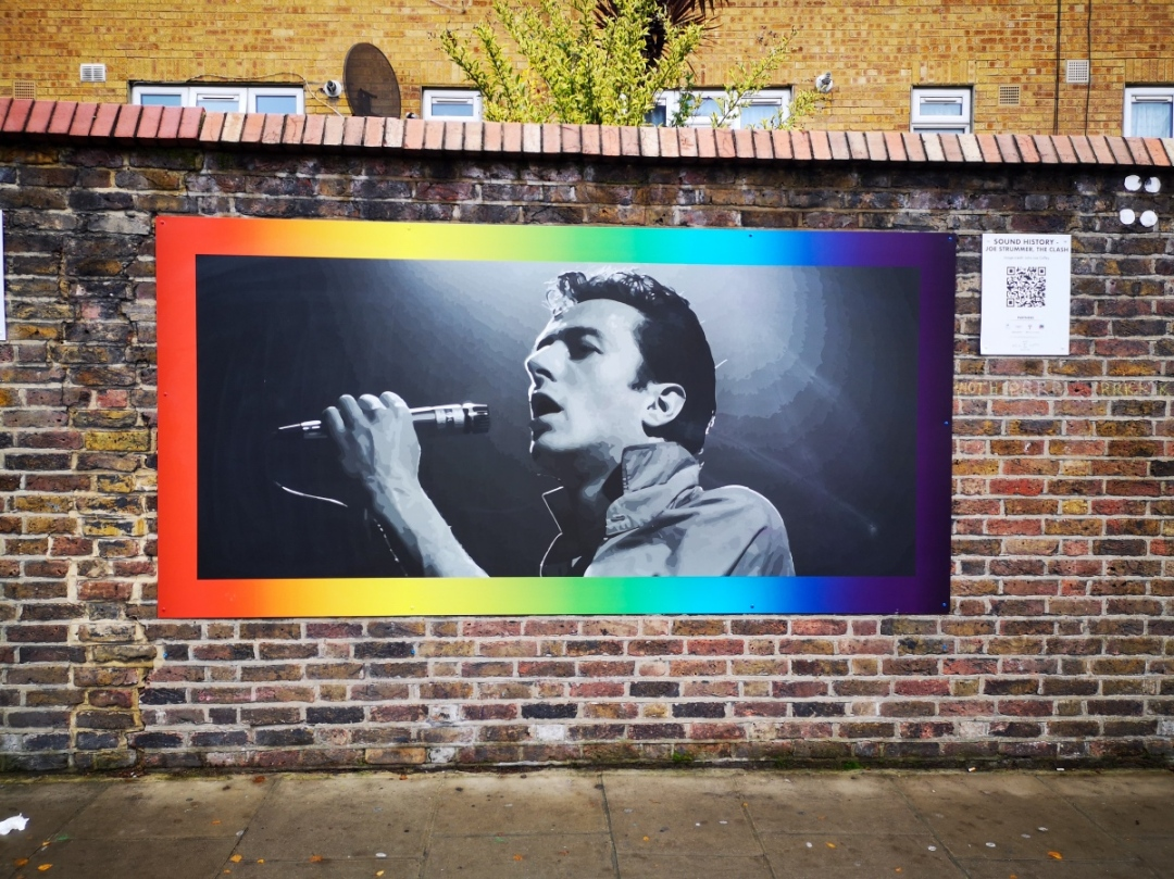 Portobello Wall Public Art Project Notting Hill - 2019 commission - Rhythm and Sound