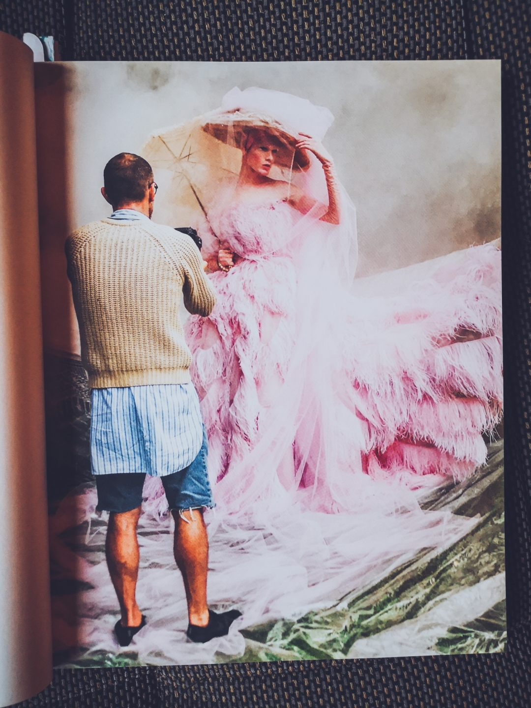 Push the Sky Away - Tim Walker photographing James Crewe in Maison Valentino; editorial за Another Man Mag