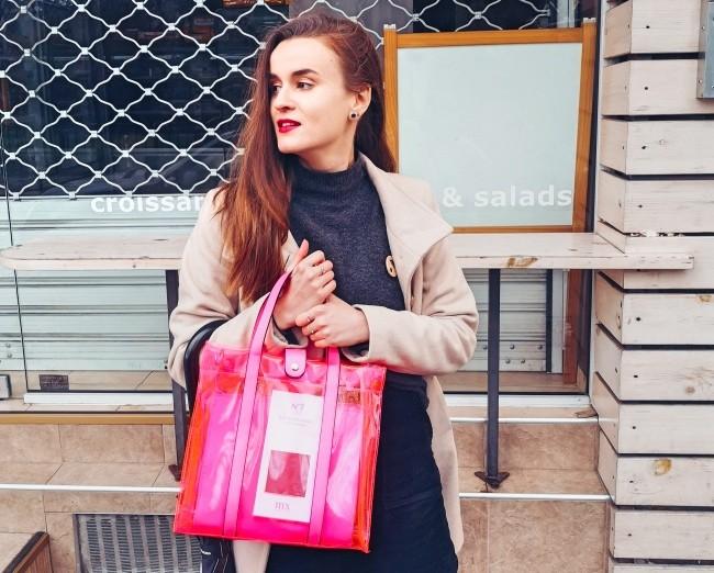 Розова чанта за пролет 2020