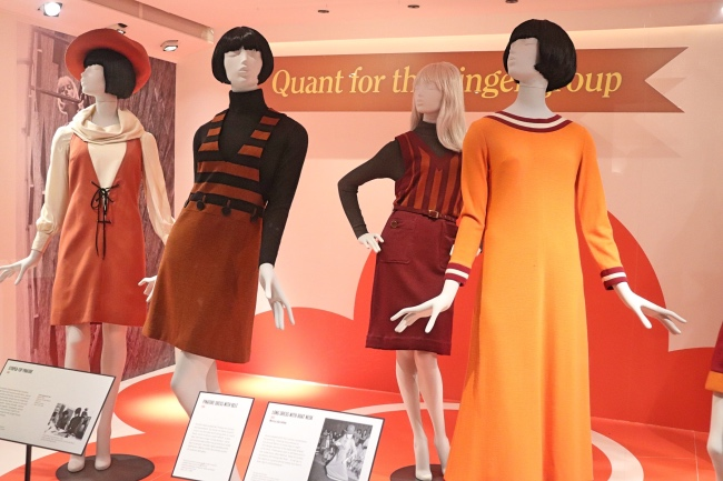 Mary Quant for The Ginger Group