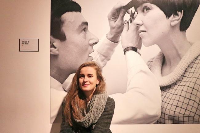 изложба на Мери Куант в Лондон