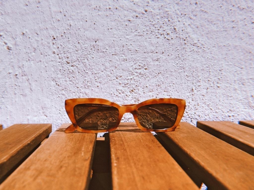 Слънчеви очила цвят светла Хавана